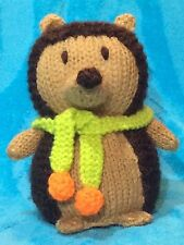 KNITTING PATTERN - Mr Prickles the Hedgehog chocolate orange cover or 15ms toy