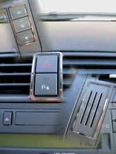 D Ford C Max Chrom Rahmen für Schalter Mittelkonsole - Warnblinker - Edelstahl