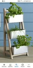 Next Salvage Ladder Small Planter - Grey