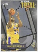 "1997-98 Fleer Shaquille O'Neal Total ""O"" Insert SP No. 9 Of 10 TO"