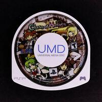 Class of Heroes Atlus Sony PSP UMD Disc