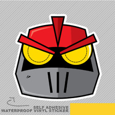 Red Robot Funky Iron Gladiator Vinyl Sticker Decal Window Car Van Bike 2582