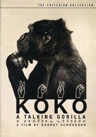 Koko: A Talking Gorilla [Criterion Collection] (REGION 1 DVD New)