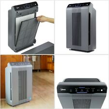 Air Purifier Clean Carbon HEPA Filter Dirt Dust Pollen Pet Dander Smoke Bedroom