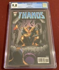 Thanos 13 CGC Graded 9.8 2nd Print Marvel 1st Cosmic Ghost Rider Variant Cover