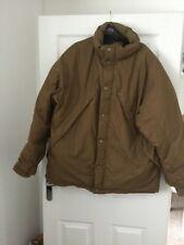 Calvin Klein khaki men's down padded coat size Large. Brown.