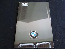 1983 BMW 5 Series E28 German Brochure 518 520i 525i 528i Sales Catalog