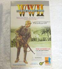 """Dragon WW2 1942 DEUTSCHES AFRIKA KORPS Reinhardt 12"""" Action Figure in Box 70100"""