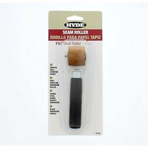 """Hyde 30160 1-1/4"""" Oval Hardwood Roller"""