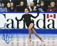 ELIZAVETA TUKTAMYSHEVA SIGNED RUSSIA FIGURE SKATING 8x10 PHOTO #1 Autograph