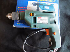 """Corded 1/2"""" hammer drill, 2 speed reversible, 110 V. 600W w/aux. handle, no key"""