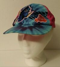 Disney Dory & Nemo Cap-Girl's Hat-One Size-Embroidered-Pink & Blue-Baseball Cap