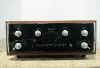 Vintage McIntosh MA6100 Stereophonic Integrated Preamp Amplifier 70W/Channel