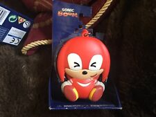 SONIC BOOM VINYL LAUGHING KNUCKLES KEYCHAIN KEYRING KEY CLASP NEW BOXED