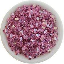 Swarovski Crystal 5328 XILION Bicones 6mm - LIGHT ROSE BLUE SHADE (12 PCS)