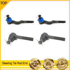 4X Steering Tie Rod Ends INNER &OUTER for 1997-04 MITSUBISHI MONTERO SPORT