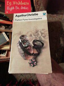 Vintage Agatha Christie-Parker Pyne Investigates-1973,3rd-Sml-,P/B.BUY IT NOW.
