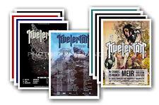 KVELERTAK - 10 promotional posters  collectable postcard set # 1