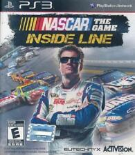 NASCAR The Game: Inside Line PS3 Tested Play Station 3, video games