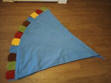 Mysig circus bed canopy, children tent, bed curtains light blue by IKEA