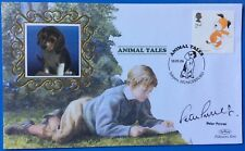 PETER PURVES Blue Peter, Actor, Dr Who Signed 10.1.2006 Animal Tales, Kipper FDC