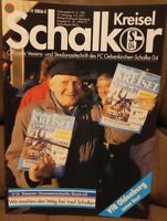 FC Schalke 04 Schalker Kreisel Magazin 5.5.1991 2.Bundesliga VfB Oldenburg /585