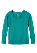 Maurices Green Seamed Pullover Sweatshirt with Thumb Holes- Originally $29