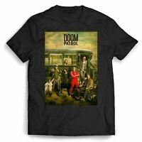 Doom Patrol Robotman Cyborg Elasti T-Shirt Men Women Funny Vintage Gift For Men