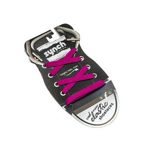 Synch Bands Shoelaces - Pinky - Kids