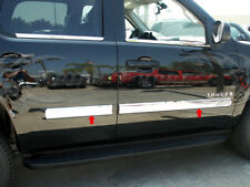 "2007- 2009.5 Chevy Tahoe Body Side Molding Trim Overlay 3 1/2""Stainless Steel"