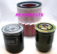 Per Mitsubishi L200 2.5 D / TD 92-05 Kit di servizio olio aria & Carburante Diesel Filtro