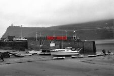 PHOTO  1971 PORT ERIN HARBOUR ISLE OF MAN ON THE HORIZON IS SEEN MILNER TOWER WH