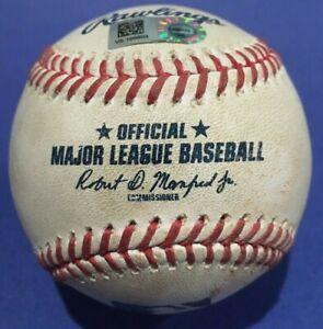MULLINS SINGLE BLUE JAYS ORIOLES GAME USED BASEBALL AUGUST 19 2020 DOLIS MLB