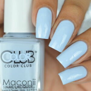 Color Club - In De-Nile - Baby Pastel Blue Cream Creme Nail Polish 1022 15ml