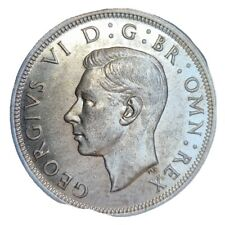 More details for   1937 george vi silver half crown lustred nice collectable grade scarce ay0075