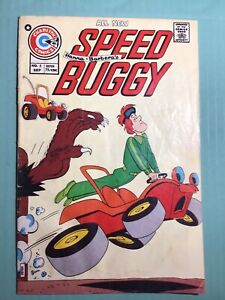 Speed Buggy #2  1975 - Charlton  -G - Hanna Barbera Car Racing Saturday Cartoon