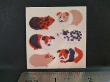 Vintage Stickers SANDYLION Fuzzy Guinea Pigs Hamsters Sticker Mod VTG VERY RARE