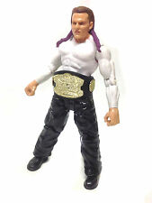 "WWE TNA WWF Wrestling JEFF HARDY 6"" poseable toy figure with Belt Accessory"