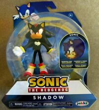 Sonic The Hedgehog Shadow Sonic Bendable Flexible Action Figure 2019 In Hand!