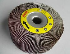 "2pcs Abrasive Flap sanding Wheel 4""x1""x 5/8"" 40 Grit for Metal Wood etc"