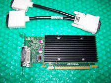 Nvidia Nvs 300 512mb Pci-e X16 Lp Doble Monitor + Cable, (compatible Con Win 7)