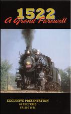 1522 A Grand Farewell DVD NEW Frisco Goodheart 4-8-2 Steam Train Video Ozarks
