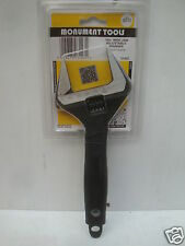 """MONUMENT 3143Z 10"""" ADJUSTABLE WRENCH EXTRA WIDE OPENING JAWS"""