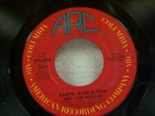"""EARTH WIND & FIRE """"AND LOVE GOES ON / WIN OR LOSE"""" 45 MINT"""