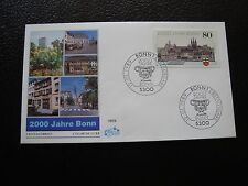 ALLEMAGNE (rfa) - enveloppe 1er jour 12/1/1989 (B8) germany
