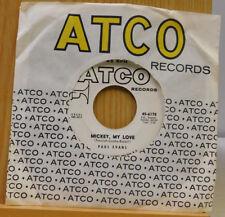 Paul Evans 45 Mickey My Love / Long Gone ~ Atco ~ VG