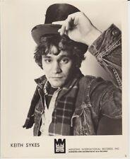 Vintage Press Photograph KEITH SYKES - RCA Records Photo