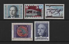 AUSTRIA 1978 LOVELY GROUP OF FIVE STAMPS *VF MNH*