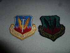 VINTAGE VIETNAM MILITARY PATCHES PATCH LOT TACTICAL AIR COMMAND USAF AIR FORCE >