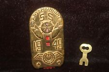 Captain Midnight 1949 SS Key-O-Matic Decoder w/Key Radio Premium EXCELLENT